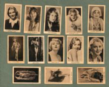 Movie stars tobacco cigarette cards collection film stars RARE ***  #707